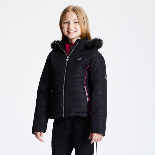 Girls' Predate Ski Jacket Black